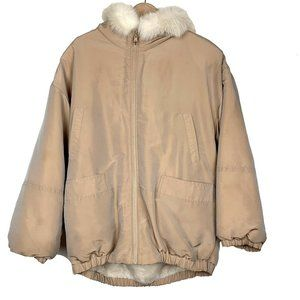 J. Percy Marvin Richards Beige Reversible Jacket